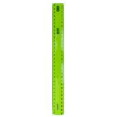 Линейка пластиковая ZiBi, 30 см, тонированная, ассорти (ZB.5612-99)