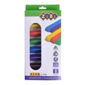 Пластилин ZiBi Kids Line 8 цветов 200 г (ZB.6226)