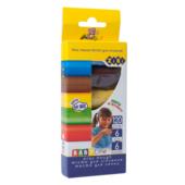 Тесто для лепки Zibi Baby Line 6 по 20г, 6 цв., в картонной упаковке (ZB.6253)