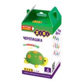 Набор воздушного пластилина для детского творчества ZiBi Черепашка 6 стиков Kids Line (ZB.6264)