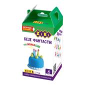 Набор воздушного пластилина для детского творчества ZiBi Безе Фантастик 6 стиков Kids Line (ZB.6266)