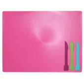 Досточка для пластилина ZiBi ZB.6910-10, 3 стека, розовый