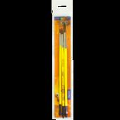 Набор кистей ZiBi Smart Line круглые из пони 3шт (ZB.6963PR-3)