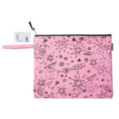 Папка для тетрадей ZiBi School А4 тканевая на молнии розовая (ZB.705529-10)
