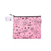 Папка для тетрадей ZiBi School А5 тканевая на молнии розовая (ZB.705530-10)