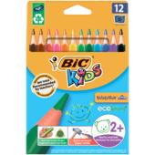 Карандаши цветные Bic Kids Evolution 12 шт (bc82902912)