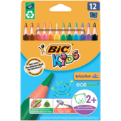 Карандаши цветные Bic Evolution Triangle трехгранные 12 шт (bc8297356)