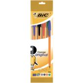 Ручка Bic Orange шариковая ассорти 4шт в блистере (bc8308541)