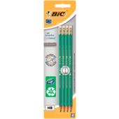 Набор карандашей чернографитовых Bic Evolution Eco с ластиком 4шт НВ в блистере (bc8902753)