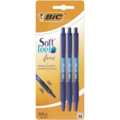 Ручка Bic Soft Clic синяя 3 шт (bc893221)