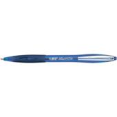 Ручка шариковая автоматическая BiC Atlantis с резиновым грипом Синяя (bc9021322)