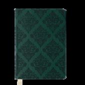 Ежедневник недатированный Buromax Castello Vintage A6 с обложкой из искусственной кожи 288 с. Темно-зеленый (BM.2611-16)