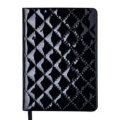 Ежедневник недатированный Buromax Donna А6 с обложкой из искусственной кожи 288 с. Черный (BM.2616-01)