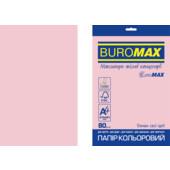Бумага цветная Buromax Euromax А4, 80г/м2, PASTEL, розовый, 20л. (BM.2721220E-10)