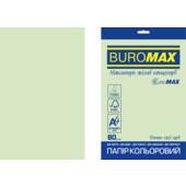 Бумага цветная Buromax Euromax А4, 80г/м2, PASTEL, св.-зеленый, 20л. (BM.2721220E-15)