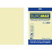 Бумага цветная Buromax Euromax А4, 80г/м2, PASTEL, бежевый, 20л. (BM.2721220E-28)