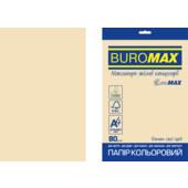 Бумага цветная Buromax Euromax А4, 80г/м2, PASTEL, кремовый, 20л. (BM.2721220E-49)