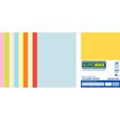 Набор цветной бумаги Buromax SUPER MIX, А4, 80г/м2 (10х25/250л.) (BM.27216250-99)