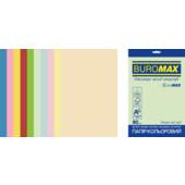 Набор цветной бумаги Buromax Euromax А4, 80г/м2, PASTEL+INTENSIVE, 10цв., 50л. (BM.2721650E-99)