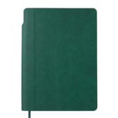 Блокнот деловой Buromax FRESH, А5, 96 л., нелинов., зеленый, иск.кожа (BM.295011-04)