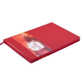 Деловой блокнот Buromax Touch Me А5 в клетку с обложкой из искусственной кожи 96 л. L2U Красный (BM.295102-05)