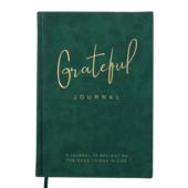 Блокнот деловой Buromax GRATEFUL, А5, 96 л., линия, т.-зеленый, иск.кожа (BM.295219-16)