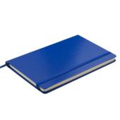 Деловой блокнот Buromax Strong Logo2U 80 листов 125 x 195 мм в клетку Темно-синий (BM.29912101-03)