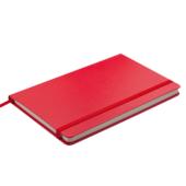 Деловой блокнот Buromax Strong Logo2U 80 листов 125 x 195 мм в клетку Красный (BM.29912101-05)