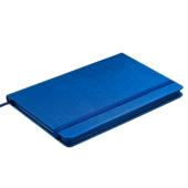 Деловой блокнот Buromax Ingot 80 листов 125 x 195 мм в клетку обложка из искуственной кожи Синий (BM.29912103-02)