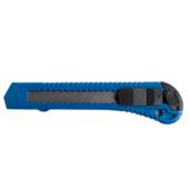Нож канцелярский Buromax Jobmax с пластиковым корпусом и шириной лезвия 18 мм 150х30х12 мм Синий (BM.4650)