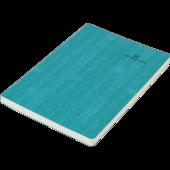 Блокнот деловой Buromax Color Tunes, А5, 96 стр., бирюзовый, без разлиновки (BM.295000-06)
