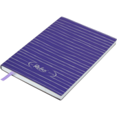 Блокнот деловой Buromax Relax, А5, 96 стр., фиолетовый, линия (BM.295201-07)