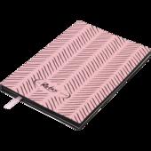 Блокнот деловой Buromax Relax, А5, 96 стр., розовый, линия (BM.295201-10)