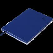 Блокнот деловой Buromax Touch Me, А5, 96 стр., темно-синий, без разлиновки (BM.295002-03)