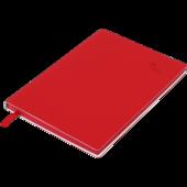 Блокнот деловой Buromax Touch Me, А5, 96 стр., красный, линия (BM.295202-05)
