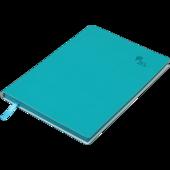 Блокнот деловой Buromax Touch Me, А5, 96 стр., темно-брюзовый, без разлиновки (BM.295002-35)