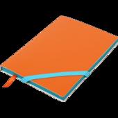 Блокнот деловой Buromax Lollipop, А5, 96 стр., оранжевый, без разлиновки (BM.295003-11)