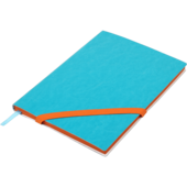 Блокнот деловой Buromax Lollipop, А5, 96 стр., голубой, без разлиновки (BM.295003-14)