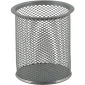 Подставка для письменных принадлежностей Buromax металлическая 90х98 мм Серебро (BM.6202-24)