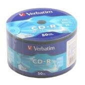 Диск CD-R Verbatim 700 Mb 52х 80 min Wrap (50) Extra Protection (d.43787)