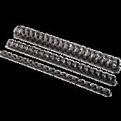 Пружины пластиковые Fellowes, 10 мм, черные, 100 шт (f.53461)