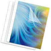 Обложки для термопереплета Fellowes Standing 8 мм, пластик, белые, А4, 100 шт (f.53912)