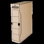 Бокс для архивации документов Fellowes R-Kive Basics, 80 мм, коричневый (f.91402)