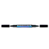 Маркер водостойкий двойной для CD/DVD  Granit gr.M830.Black, 1,5-2,5 мм/0,4 мм, черный