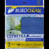 Салфетка для пола, микрофибра, BuroClean EuroStandart 50х60 см (10200154)