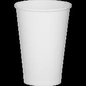 Стаканы одноразовые бумажные BuroClean, белые, термо, 350 мл, 50 шт (1080023)