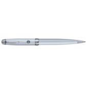 Ручка шариковая Regal с глянцевым лакированным корпусом белого перламутрового цвета в пластиковом футляре Синяя (R502407.PB10.B)