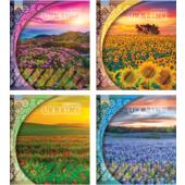 Тетрадь Мрії Збуваються 60 л. в линейку Цветущие поля (TA5.6021.3008л)