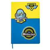 Школьный дневник ZiBi Extreme В5 48 л. твердая обложка из искусственной кожи Желто-голубой (ZB.13209-08)