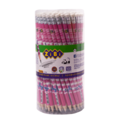 Карандаш графитовый ZiBi Flowers, HB, ластик (ZB.2300)